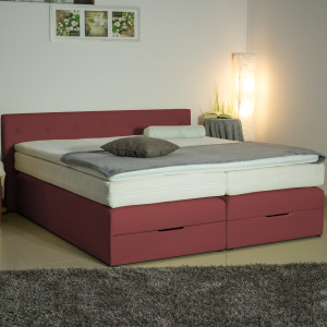 Boxspringbett Box 40GK mit Bettkasten,